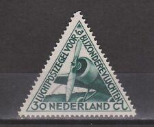 LP 10 luchtpost 10 gestempeld used NVPH Nederland Netherlands airmail