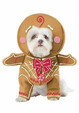 California Costumes PET20133 Gingerbread Pup Dog Costume