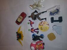 Batman joker Toy lot of 13 misc toys or toy accessories