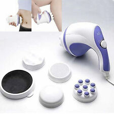 RELAX SPIN & TONE FULL BODY MASSAGER BACK FOOT N HANDS PORTABLE SLIMMING