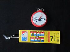 WESTCLOX 1968 MLB Team Mate LA Dodgers Pocket Watch with hang tag