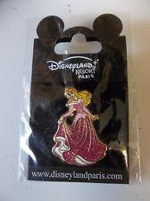 Disney Land Paris Pin Sleeping Beauty Sparkles Glitter
