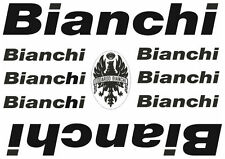 Bianchi Bicycle Vinyl Decal Stickers Frame Replacement Adhesive Set Aufkleber #1