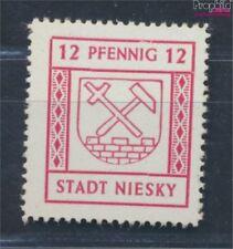 niesky (oberlausitz) 4 neuf 1945 timbres (8688423