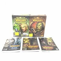 Lot World of Warcraft PC Wow Burning Chest PC Battle Chest Guides Assortment