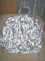 Large Snow Camo Jacket Insulated Cold Weather Coat Waterproof Snow Parka Hunting