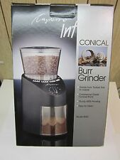Infinity Burr Grinder Black New Commercial Grade Conical Steel FREE SHIPPING