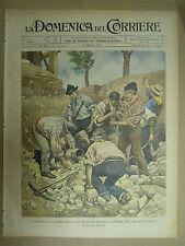 LA DOMENICA DEL CORRIERE. N.19. 1901. giro d'Italia in automobile, Casaleone