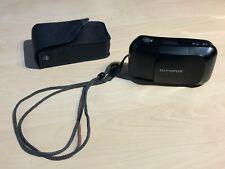 Olympus mju-1 35mm Film Camera + Strap + Case - Working - Film Tested
