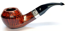 Peterson Sherlock Holmes Squire Smooth Silver Mounted Pipe with a Free Pipe Tool