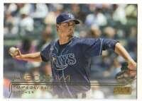 2015 Topps Stadium Club Gold Foil Parallel #261 Jake Odorizzi Rays