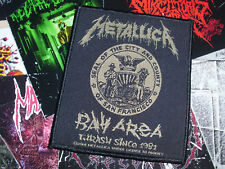 Metallica Woven Patch Thrash Heavy Metal Official 2014 Copyright