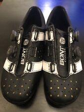 Bont Vaypor Plus carbon racing shoes Black/ White Size 10.5 US