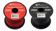 14 GAUGE WIRE RED & BLACK POWER GROUND 100 FT EACH PRIMARY STRANDED COPPER CLAD