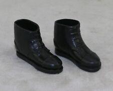 GI Joe 1964 1975 AT Accessory Short Black Boots Flat Revenge Spy Black Widow