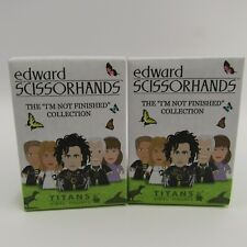 Edward Scissorhands Titans Vinyl Figures NEW Lot of 2 Sealed Blind Box Packs