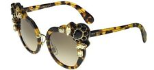 Miu Miu SMU04S light havana/grey shaded (7S0-3D0) Sunglasses