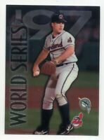 1998 Topps Chrome CHAD OGEA Rare WORLD SERIES SUBSET #282 Cleveland Indians
