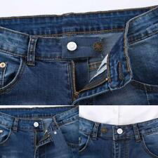 3 Color Set Denim Jeans Pants Waist Extender Men Women Pregnancy Metal Button