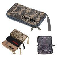 Tactical Pistol Gun Padded Carry Case Portable Handgun Holster Pouch Bag