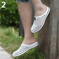 AM _ мужские женские дышащие тапочки полые из пляж сандалии садовые отверстие обувь