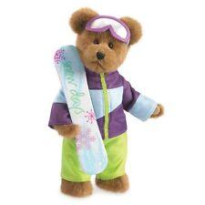 """Boyds Winter Wonderland Bear Maverick Snowbum 12"""" Tall"""