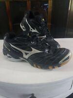 Mizuno Wave Lightning RX Running Hiking Gym Trail Shoes Silver Black Mens Size 9