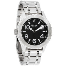 Nixon 38-20 Black Dial Stainless Steel Ladies Watch A410000000