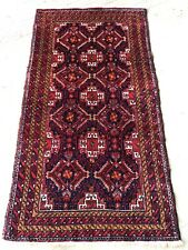Tapis Persan Belutch Irann 172x94cm teppiche Rugs Tappeto Alfombra Carpet