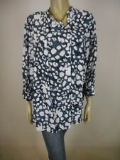 Viscose 3/4 Sleeve Dry-clean Only Regular Tops & Blouses for Women