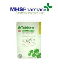 Tubifast 2 Way Stretch Yellow Line 1m Tubular Bandage