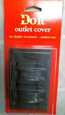 DoitBest 524425 Bronze Outlet Cover, Duplex Receptacle, Outdoor Use, FREE SHIP