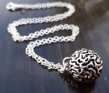 Anatomically correct Anatomical Brain Necklace - 925 Sterling - FREE GIFT BOX!