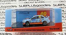 Tarmac Works 1:64 Hobby64 Mitsubishi Lancer Evolution EVO X GULF Rally Finland