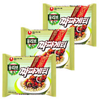 Korean Instant Noodle Black Bean Sauce NONGSHIM Chapagetti 3,6,9ea Ramyun Ramen
