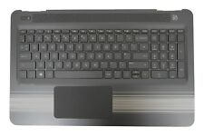 New HP Pavilion 15-AW Palmrest Touchpad Cover UK QWERTY Keyboard 903368-031
