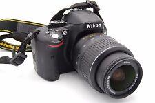 Nikon D5100 16.2MP DSLR Cámara con AF-S Dx Nikkor 18-55mm F/3.5-5.6g G Lente VR