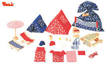VOILA TOY pretend play PICNIC and CAMPING SET kid's GIFT imaginative play *NEW