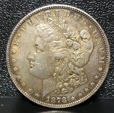 1878 Rev' 78 7TF U.S. Morgan Silver Dollar~ Nicely Toned AU