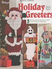TNS Holiday Greeters Plastic Canvas Patterns Christmas Easter Thanksgiving More