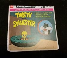 View-Master J28, Tweety And Sylvester, Children's 3 Reel Set, Reels and jacket