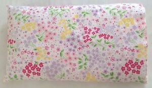 POTTERY BARN Kids Girls Floral Cover and Lumbar Pillow Decorative Bedding