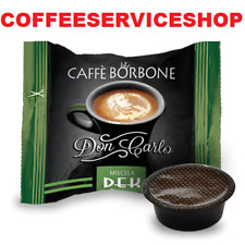 200 Capsule Cialde Caffè Borbone Don Carlo Dek compatibili Lavazza A Modo Mio