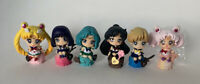 sailor moon cake set of 6pcs PVC figure gift doll hot toy collect hot