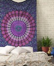 Srijan Mandala Twin Indische Baumwolle Wandbehang Tapisserie Deko Tuch 135X200cm