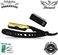Barber Salon Straight Cut Throat Shaving Razor Shavette RASOIRS RASOI FREE 10
