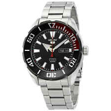 Seiko Series 5 Automatic Black Dial Men's Watch SRPC57