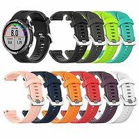 Für Garmin Forerunner 645 Watch Ersatzteile Silikon Watch Strap Watchband 20mm