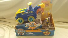 Paw Patrol Flip & Fly Mighty Pups Chase - Figure And Transforming Vehicle - NEW