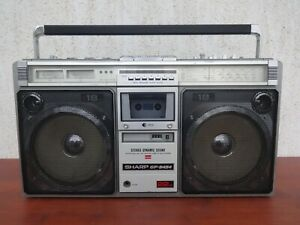 Sharp GF - 9494 X Working Boombox Ghettoblaster used.